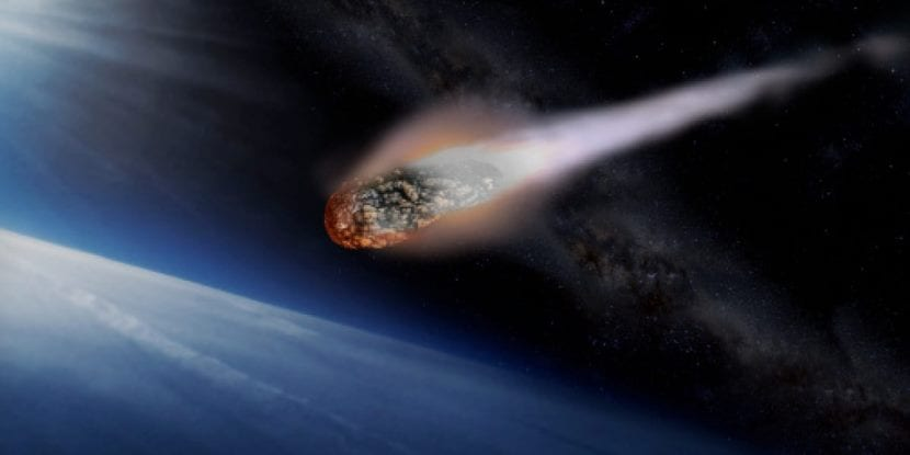 entrada asteroide