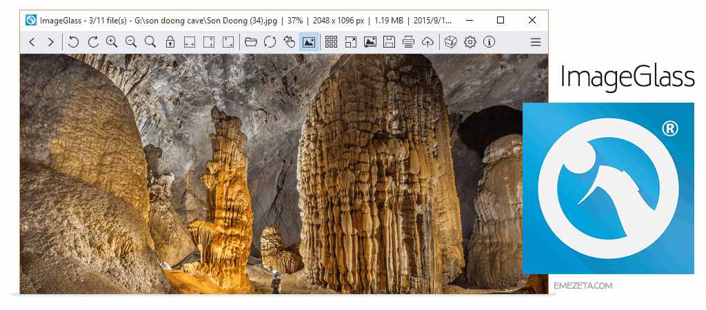 imageglass, un visualizador de fotos de windows 10