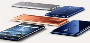 Nokia 8 con diseño en aluminio
