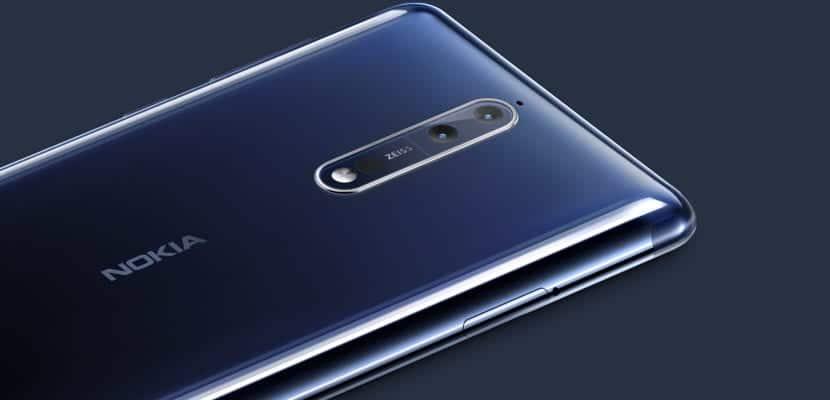Nokia 8 detalle de su cámara Zeiss