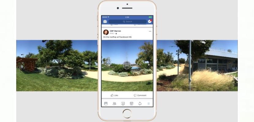 Ya puedes hacer fotos panorámicas sin salir de Facebook