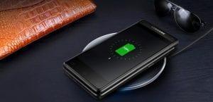 Samsung Leader 8 cargando inalámbricamente