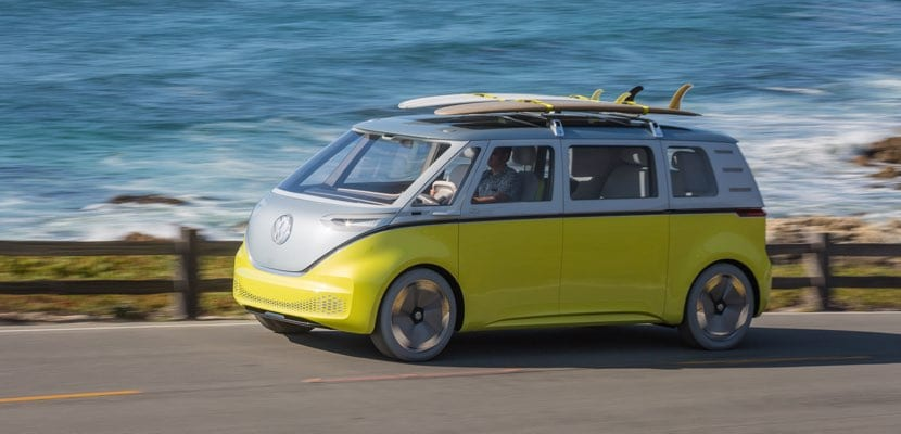 VW Microbus eléctrico exterior