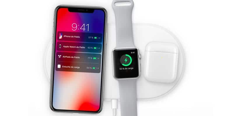 AirPower base de carga inalámbrica para iPhone Apple Watch y AirPods