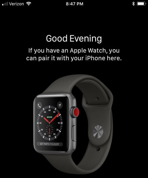 Imagen del Apple Watch Series 3