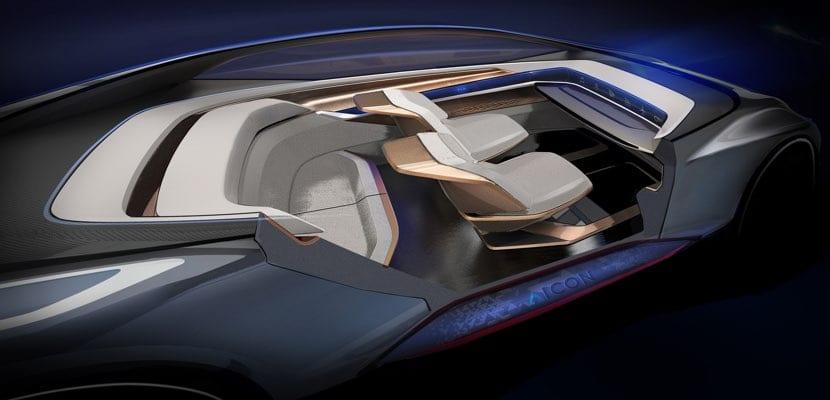 Interior del Audi Aicon