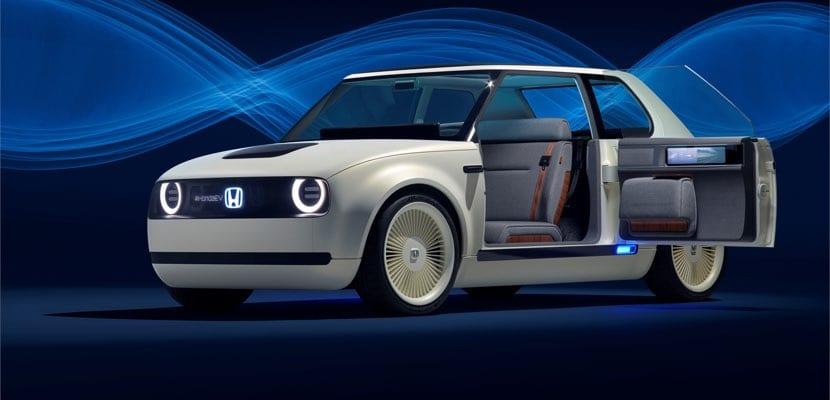 Apertura puertas en el Honda Urban EV Concept