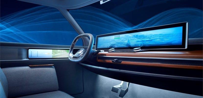 Interior del Honda Urban EV Concept