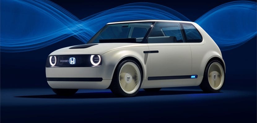 Vista general Honda Urban EV concept