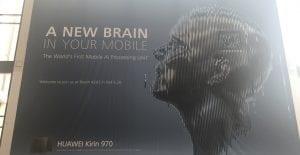 Imagen publicitaria del nuevo Kirin 970