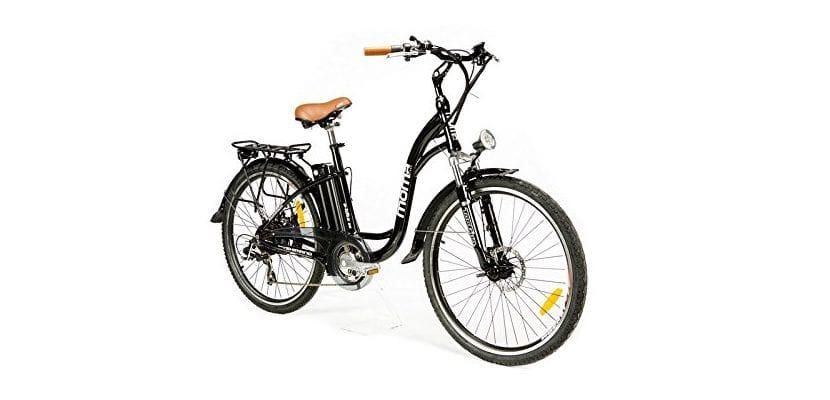 """Moma - Bicicleta Eléctrica Paseo SHIMANO, ruedas de 26"""""""