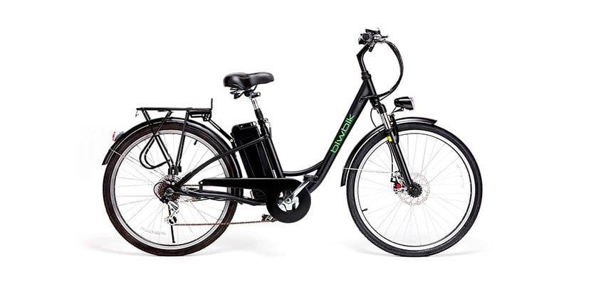 Sunray 200 - Bicicleta eléctrica de paseo