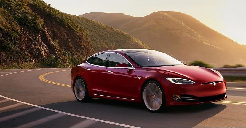Imagen de uno de los coches de Tesla