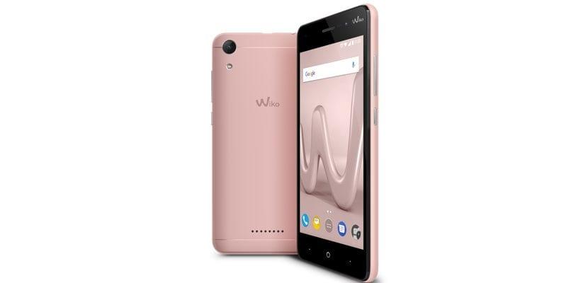 Wiko Lenny 4 en color rosa oro