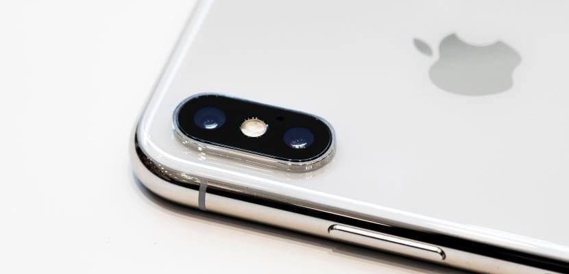 Imagen de la cámara del iPhone X