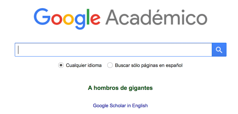 Que es Google Académico