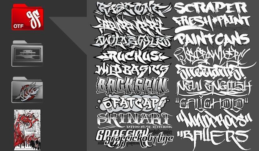 Fuentes para hacer graffitis con nuestro nombre