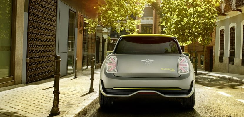 Trasera del MINI Electric Concept 2019