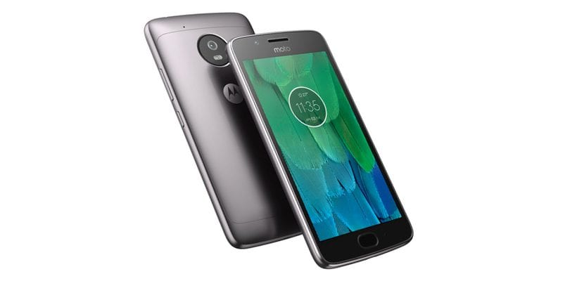 Motorola MotoG 5 negro