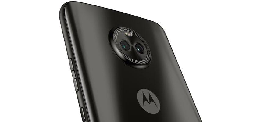 Parte trasera Motorola Moto X4