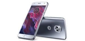 Motorola Moto X4 color plata