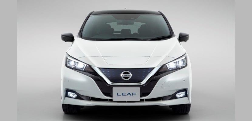 Frontal del Nissan LEAF 2018