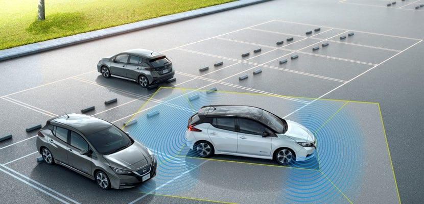 Sistema ProPILOT Park Nissan LEAF 2018