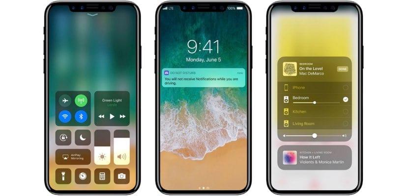 Nuevas funciones reveladas iPhone8 con iOS 11 GM