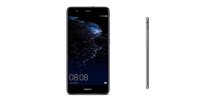 Frontal y perfil del Huawei P10