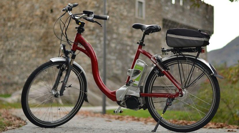 Partes de una bicicleta eléctrica