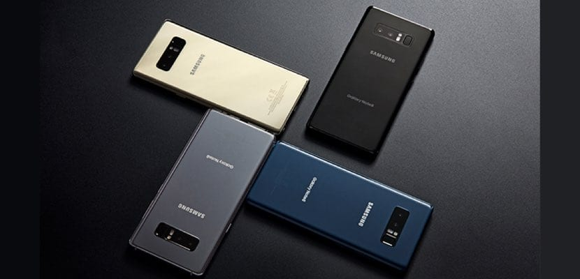 Ventas del Samsung Galaxy Note 8