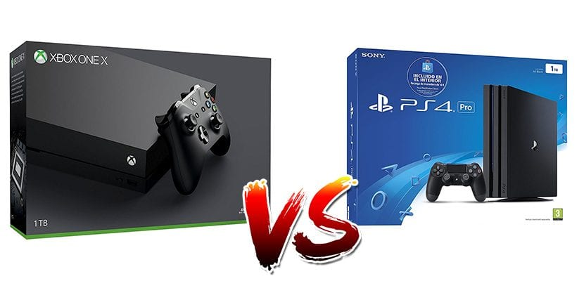 PlayStation 4 Pro vs Xbox One X