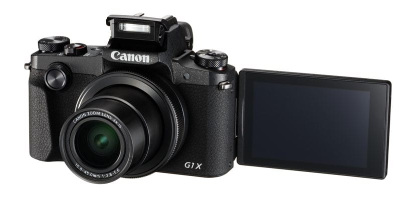 Canon PowerShot G1 X Mark III lateral