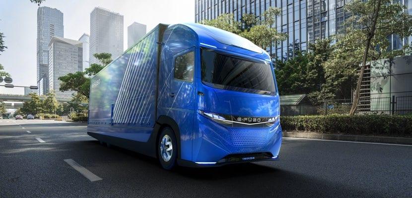 Daimler Fuso-E Vision One