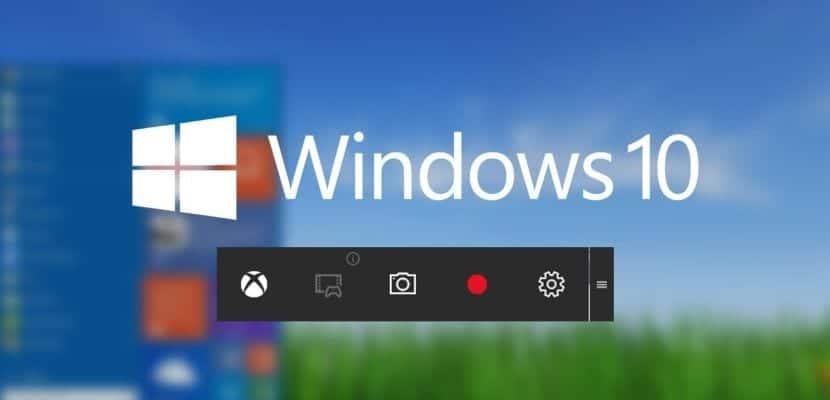 Imagen de la grabación pantalla de Windows 10