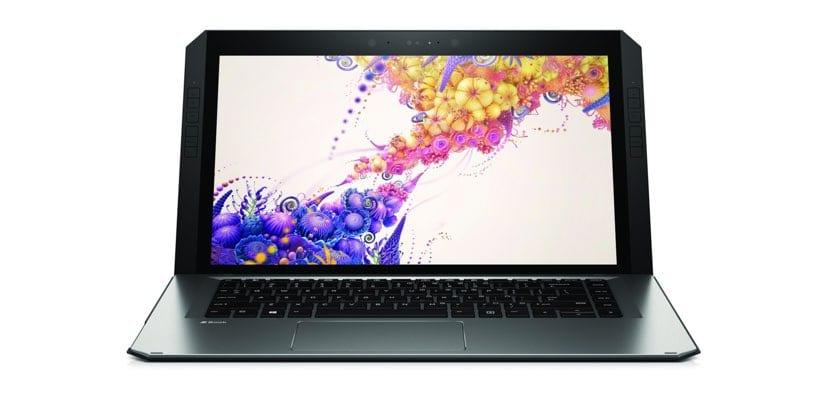 HP ZBook x2 de frente