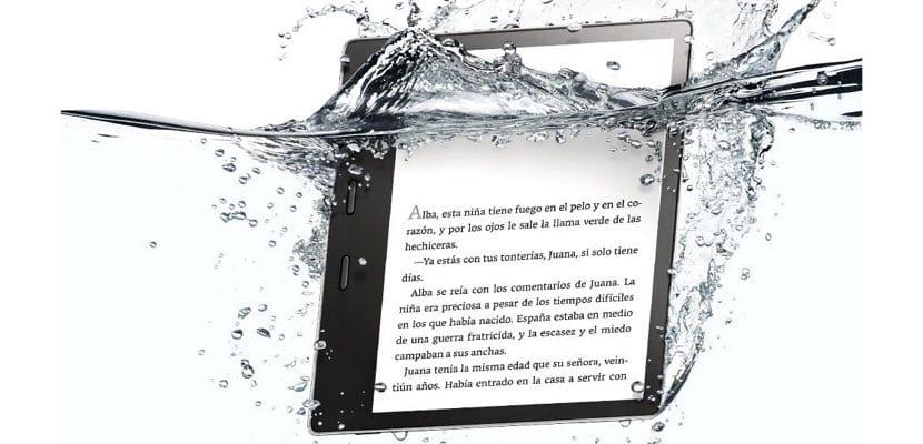 Kindle Oasis resistente al agua