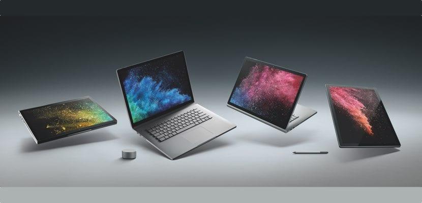 Presentación Microsoft Surface Book 2