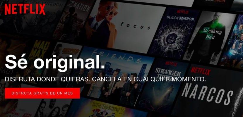 Cambio de tarifas de Netflix España