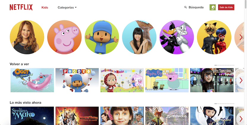 Netflix Kids nos ofrece un amplio abanico de videos para niños
