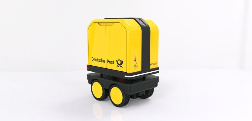 PostBOT robot de Deutsche Post