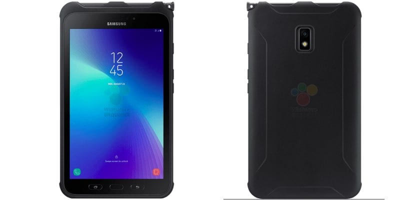 Samsung Galaxy Tab Active 2 vistas