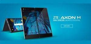 ZTE Axon M con doble pantalla