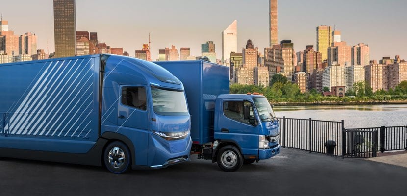 Camión eléctrico de Daimler