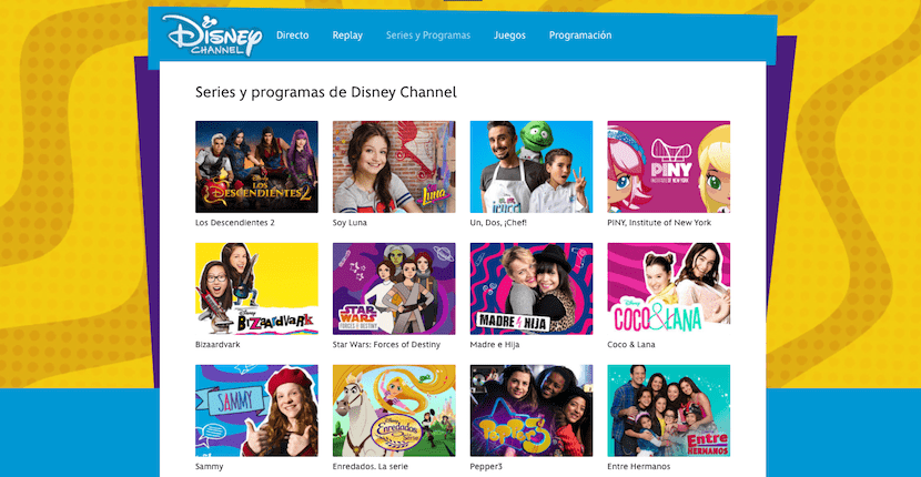 Disney Channel nos ofrece vídeos para jóvenes y niños