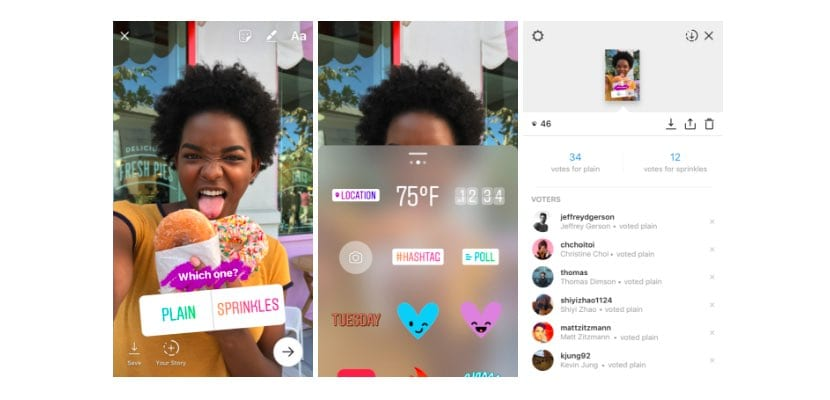 Instagram agrega encuestas en Stories