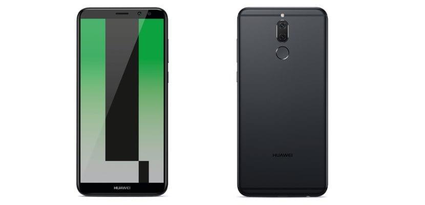 Huawei Mate 10 Lite vistas