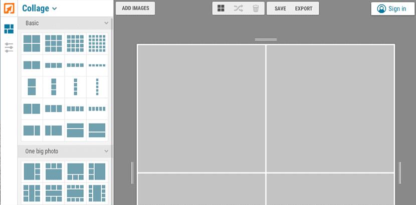 Crea Collages con iPiccy, un editor de fotografías online