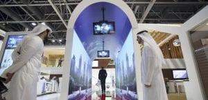 Túnel control aeropuerto Dubai