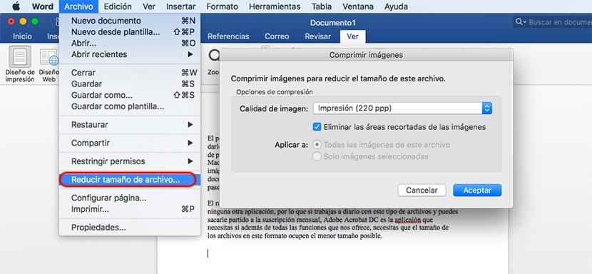Cómo comprimir un PDF para que ocupe menos espacio